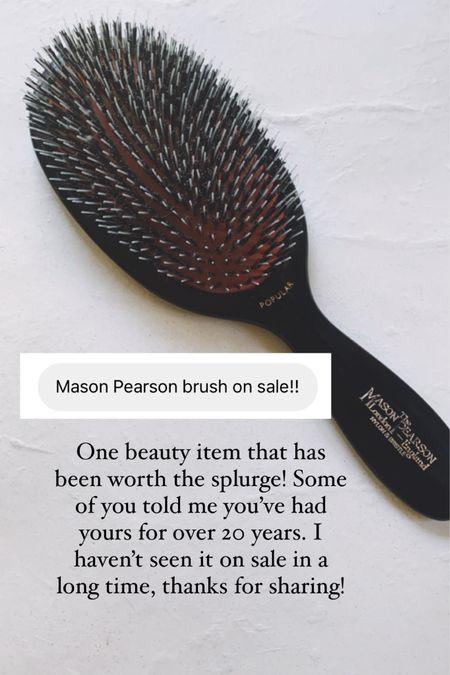 Mason Pearson brush, mason pearson sale http://liketk.it/3hPfo #liketkit @liketoknow.it #LTKsalealert #LTKbeauty