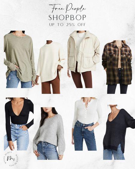 Free People up to 25% off @Shopbop code STYLE free people oversized sweaters free oeople jacket free people oversized tunic http://liketk.it/3pxM7 @liketoknow.it #liketkit #LTKsalealert