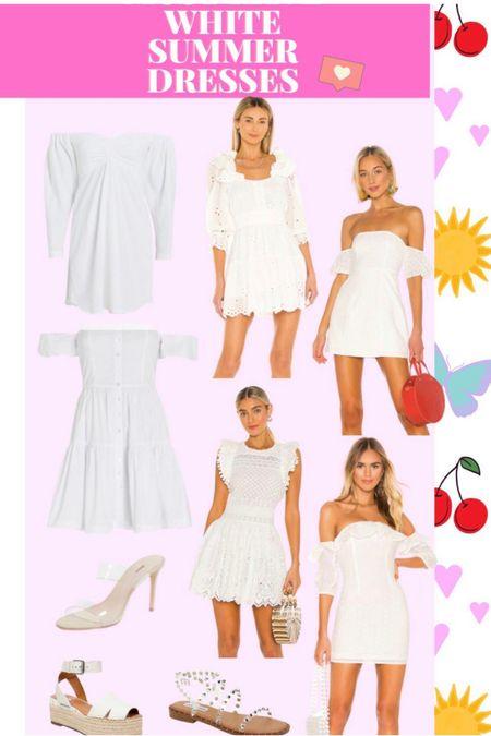 White summer dresses! 🤍🤍🤍  http://liketk.it/3k2TQ @liketoknow.it #liketkit