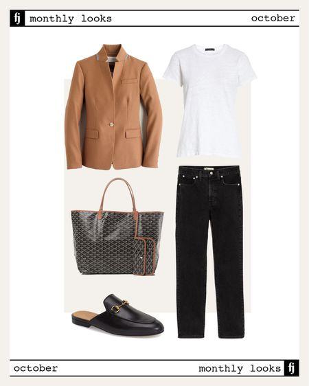 October fall outfit idea #falloutfits  #LTKstyletip #LTKworkwear #LTKunder100