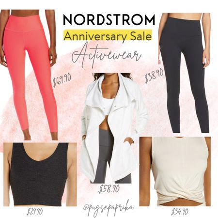 Nordstrom Anniversary Sale Activewear! Zella, Alo, Workout Leggings #liketkit #LTKsalealert #LTKstyletip #LTKfit @liketoknow.it http://liketk.it/3jRhQ