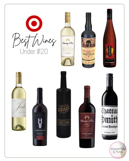 Target wines under $20!! 🎯 🍷  http://liketk.it/3g11V #liketkit @liketoknow.it