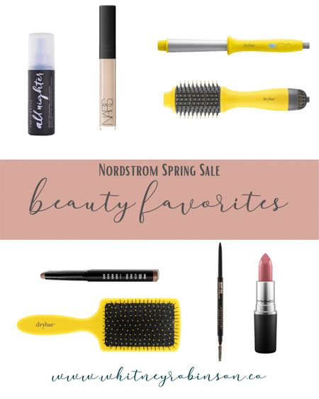 The Nordstrom Spring Sale is in full swing! Some of my favorite beauty finds are on sale now, so don't miss them! http://liketk.it/3bQDs #liketkit #LTKbeauty #LTKunder50 #LTKSpringSale @liketoknow.it  Drybar  Bobbi Brown  Anastasia Beverly Hills  Brow Urban Decay  Mac  Lipstick Concealer Hair tools  Hair brush  Beauty sale  Curling wand Round dryer brush