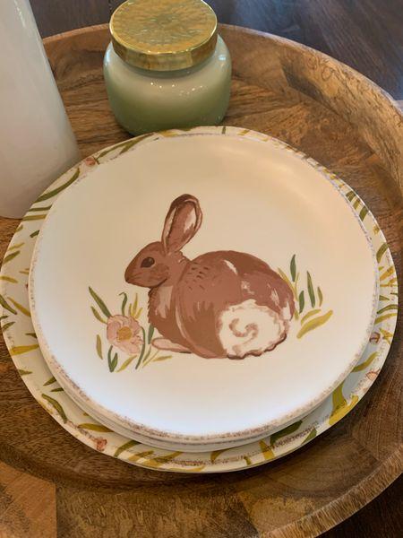 The cutest Easter tableware! And it's melamine!    #LTKSeasonal #StayHomeWithLTK #LTKhome