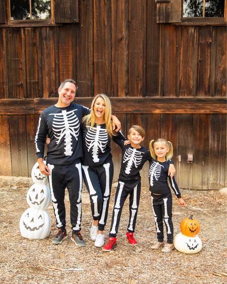 Just Creepin' it Real in Halloween matching pajamas!  #matchatchy #halloween #matchingoutfits #matchingpajamas #holidaypajamas #halloweenpajamas #halloweendecor #skeleton #skeletonpajamas #targetstyle http://liketk.it/2Y9Dw #liketkit @liketoknow.it