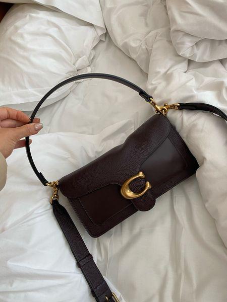 Coach bag - crossbody bag - C bag - handbag - designer bag - tabby bag - coach crossbody bag - designer bag - leather bag - affordable bag   #LTKsalealert #LTKitbag #LTKstyletip