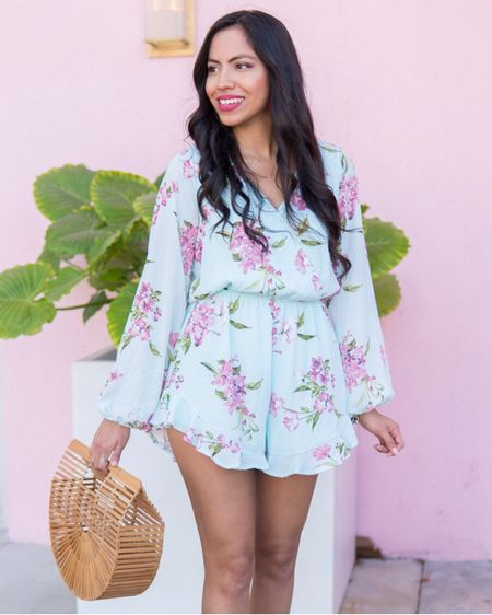 Give me all the florals!!! Can't hide my love for this long sleeve romper that I've worn on repeat almost every weekend 🙈 It's only $42 and available in a pretty blush color. I have linked other similar options as well as my bag and shoe options on the @liketoknow.it app or through the link in my bio http://liketk.it/2Bchl   #liketkit #LTKunder50 #LTKstyletip #casuallooks #outfitshare #styleshare #affordablestyle #miamiblogger #miamistyle #miamilife #effortlessstyle #everydaystyle #momstyle #modalatina #estilosa #fashionfix #rewardstyle #pinklilystyle #americanstyle #dressmeforless