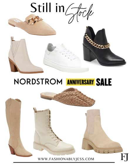 My shoes picks that are still in stock 👌🏼 #nsale Booties Combat boots Steve Madden Sneakers Mules   #LTKshoecrush #LTKsalealert #LTKunder100