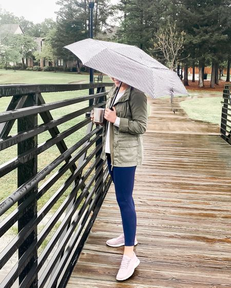 Rainy Saturday spent finishing season 3 of Ozarks, doing a little self care, and going for a wine walk in the rain 🌧. Now it's time for steaks on the grill and a fire pit 😊.  •  http://liketk.it/2Muav @liketoknow.it  •   #liketkit #StayHomeWithLTK #LTKunder50 #LTKstyletip
