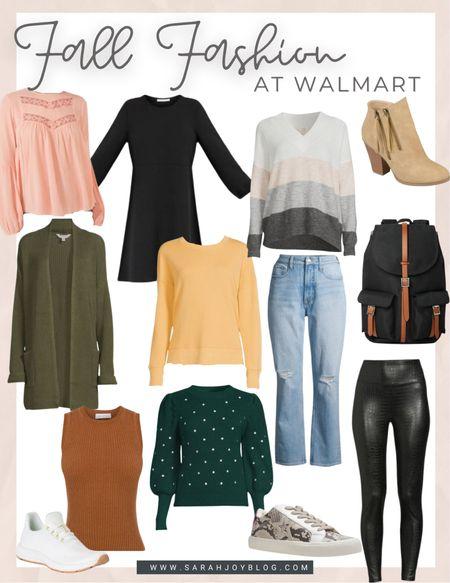 Fall sweaters from Walmart.   #LTKSeasonal #LTKunder50 #LTKstyletip