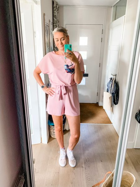 Outfits of the week-Thursday  Photoshoot day so I needed something comfortable that I could move around in all day. This romper or play suit as we call it in the NL is perfection! I like it so much, I also have it in navy.    #LTKstyletip #LTKtravel #LTKeurope