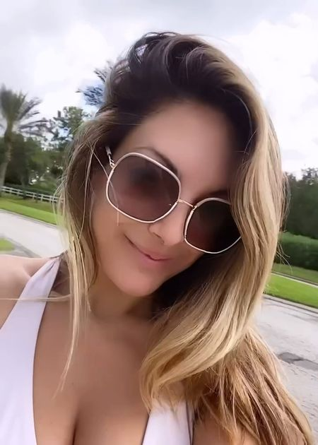 sunglasses, prada sunglasses, neutral sunglasses, sunnies, beach vacation, vacation, resort wear, square sunglasses, styledbyjacinta, jacinta devlin    #LTKswim #LTKSeasonal #LTKstyletip