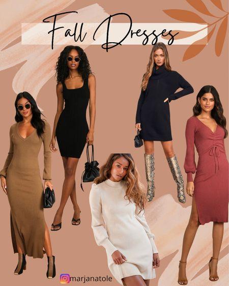 Fall dresses!   #LTKSeasonal #LTKstyletip #LTKunder100