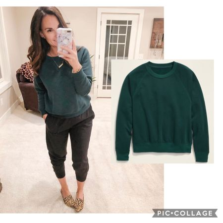 This basic crewneck sweatshirt comes in so many colors and is under $15 today and tomorrow!!   http://liketk.it/2YzoQ #liketkit @liketoknow.it #LTKsalealert