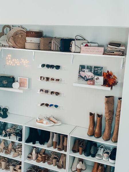 Simple closet makeover #cloffice #makeover #homeoffice   #LTKunder100 #LTKstyletip #LTKhome