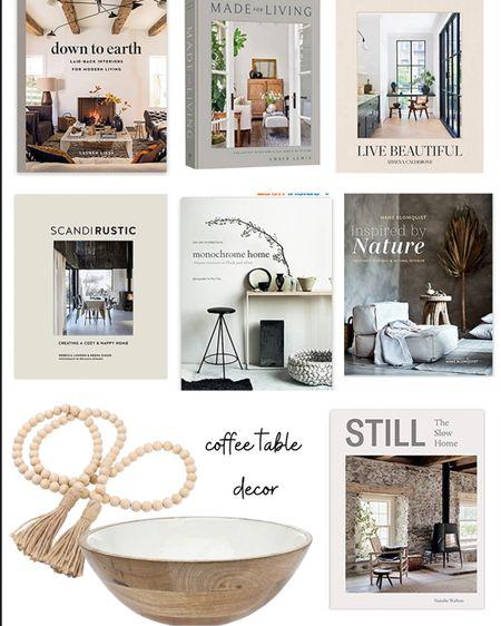 Coffee table decor http://liketk.it/3eBhk #liketkit @liketoknow.it #LTKunder50 #LTKhome #LTKstyletip