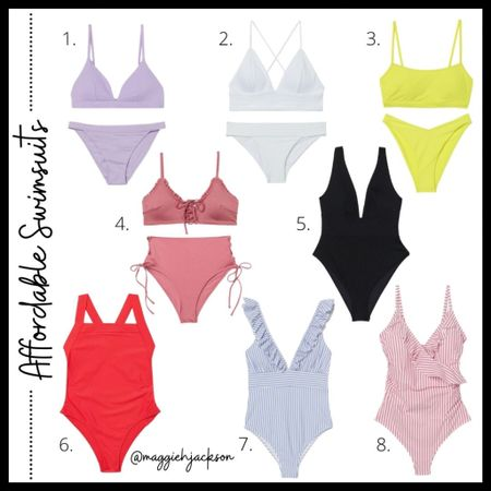 BEST AFFORDABLE SWIMSUITS!! Styles for everyone to wear this summer!  #competition  #LTKswim #LTKSeasonal #LTKunder50