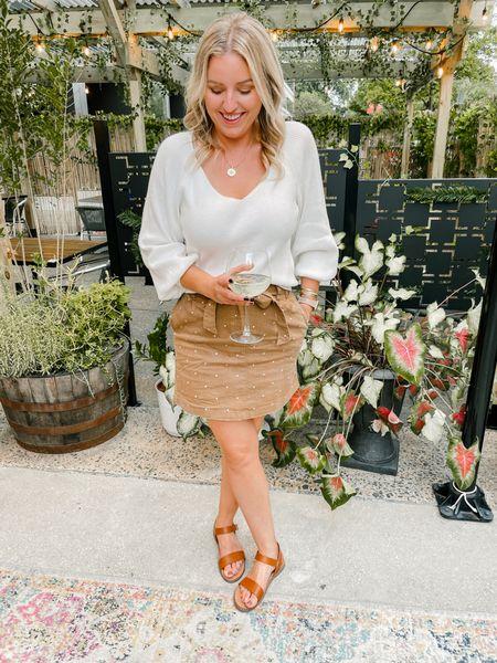 Redress polka dot skirt with bow