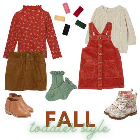 Fall toddler style!   #LTKHoliday #LTKkids #LTKSeasonal