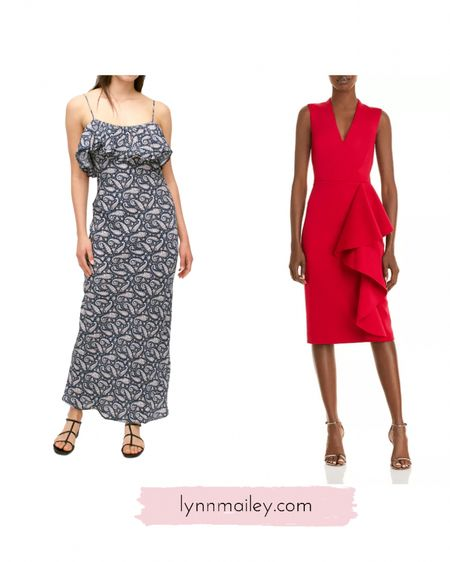 ❤️ Wedding guest dress ideas.  Lots of different styles for black tie to beach weddings.   #maggylondon #whbmstyle #millydress #sojcrew #weddingguest #personalshoppernj #bloomingdales   http://liketk.it/3h0aB #liketkit @liketoknow.it #LTKwedding   ❤️ Download the LIKEtoKNOW.it shopping app to shop this pic via screenshot or click on the link in my bio!