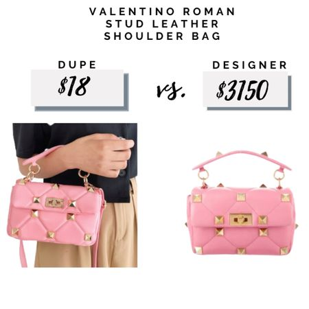 A great Valentino inspired Roman stud bag for a fraction of the price.   #LTKunder50 #LTKsalealert #LTKitbag #falloutfit