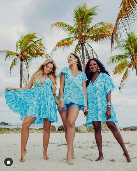 Loving this beautiful blue print from #BuddyLove 🦋 Which style would you pick?   Grab the outfit details on  http://liketk.it/3h6Fg #liketkit   @liketoknow.it  #LTKunder100 #summeroutfits #beachdress #blueprint #blue