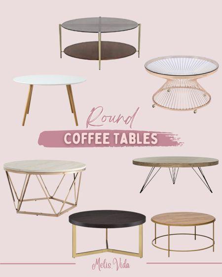 Round Coffee Tables #targetfinds #amazonfinds #targethome #stayhomewithltk  #LTKstyletip #LTKGifts #LTKhome