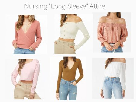 Trying to find fashionable nursing wear can be hard. I have added some of my favorite long sleeve nursing tops for easy access when on the go! Shop your screenshot of this pic with the LIKEtoKNOW.it app @liketoknow.it.europe @liketoknow.it.family @liketoknow.it.home @liketoknow.it.brasil #LTKbaby #LTKbeauty #LTKbrasil #LTKbump #LTKcurves #LTKeurope #LTKfamily #LTKkids #LTKsalealert #LTKspring #LTKstyletip #LTKunder50 #LTKunder100 #LTKworkwear http://liketk.it/2D8Cp #liketkit @liketoknow.it