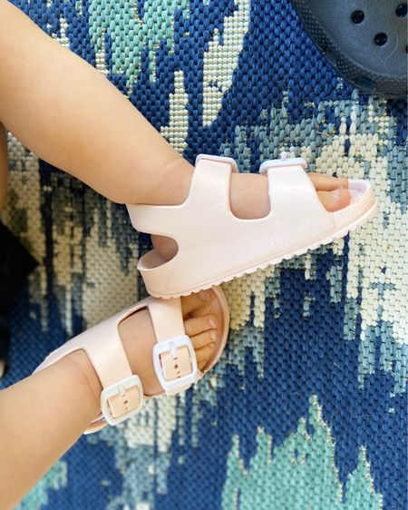 A little too big but love these baby girl sandals Baby shoes baby sandals summer sandals toddler shoes toddler sandals toddler girl shoes toddler girl sandals   http://liketk.it/2MdyR #liketkit @liketoknow.it #StayHomeWithLTK #LTKshoecrush #LTKspring @liketoknow.it.family @liketoknow.it.home