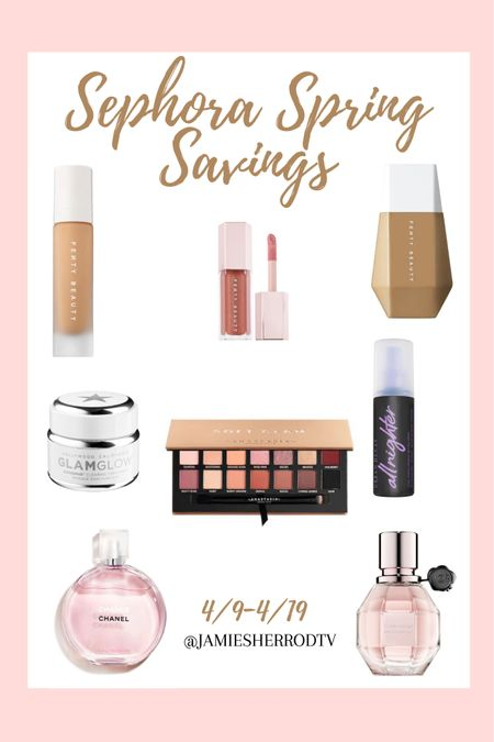 Looking forward to saving so much money during the Sephora Spring Savings Event! Here are a few of my faves/products I plan on getting 💗  #LTKbeauty #LTKsalealert #LTKSeasonal