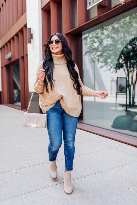 Camel poncho sweater is back in stock and on sale for $35 with code: FALLFUN #loftstyle   #LTKSeasonal #LTKsalealert #LTKHoliday