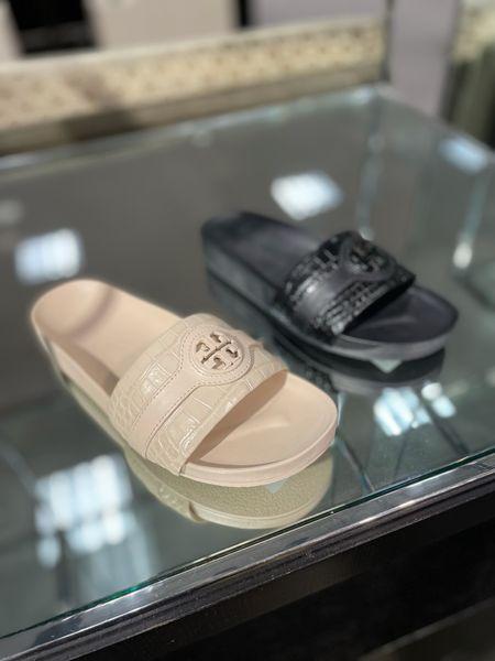 Tory Burch sandals. Nordstrom sale. #nsale.  I ordered the black and they fit true to size  #LTKsalealert #LTKstyletip #LTKshoecrush