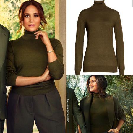 Meghan's turtleneck confirmed as The Row Demme #fall #sweater   #LTKSeasonal #LTKstyletip
