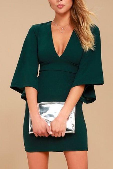 The perfect wedding guest dress for fall .#weddingguest dress  #LTKstyletip #LTKSeasonal #LTKwedding