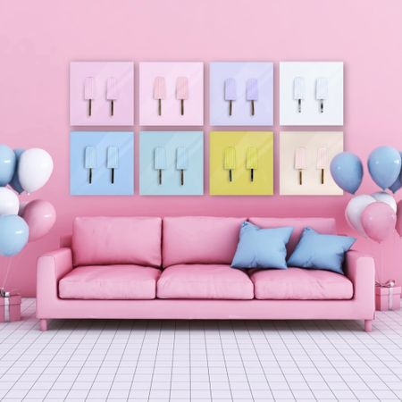Looking to update your home decor this summer? How perfect are these popsicle prints? They'd be so cute as nursery decor, in a little girl's room, or even in a kitchen!   Great price point for the quality too! Starting at only $50    #LTKSeasonal #LTKunder100 #LTKhome