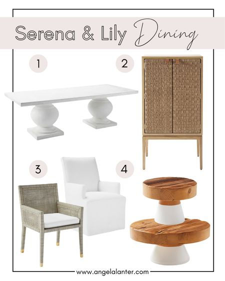 Serena and Lily 20% off sale! Shop my favorite Serena & Lily dining room products. http://liketk.it/3ge7R #liketkit @liketoknow.it #serenaandlily