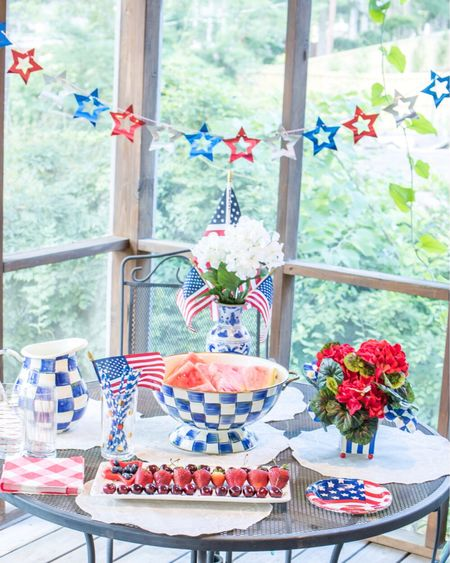 4th of July is around the corner. I'm sharing how I styled our table. http://liketk.it/3hRk1 #liketkit @liketoknow.it #LTKhome