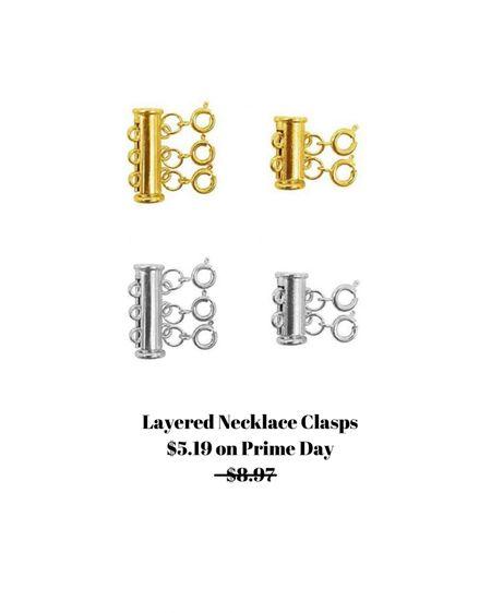 These keep your necklace from getting all tangled up! On sale for $5.19   http://liketk.it/3i9zB #liketkit @liketoknow.it #LTKsalealert #LTKstyletip #LTKbeauty