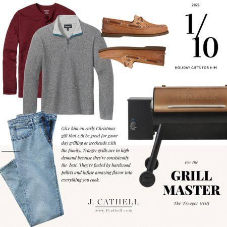 The top ten gifts for him cab be found on today's blog post, and I'm sharing the first five here on Instagram! You all know I love to do things a little different, so I've also included outfits for him and for her that pair well with each gifting category. You'll also find items at various price points so there is something for everyone!    #LTKSeasonal #LTKGiftGuide #LTKHoliday