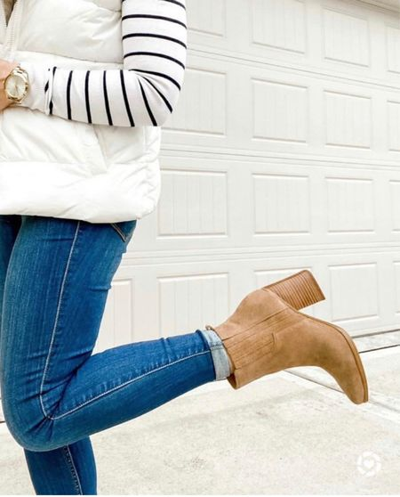 Nordstrom anniversary sale booties- linked similar to the ones I got last year - the ones I'm wearing in the pic are by Marc Fischer        Nordstrom anniversary sale, booties, boots, fall fashion, women's shoes #booties #boots #fallfashion #nsale     #LTKshoecrush #LTKsalealert #LTKstyletip