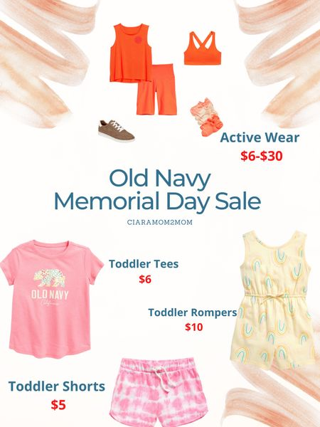 Old Navy Memorial Day Weekend Sale   Up to 50% storewide!!   Use code: SAVE for $10 off when you spend $60 or more!   #LTKfamily #LTKunder50 #LTKsalealert
