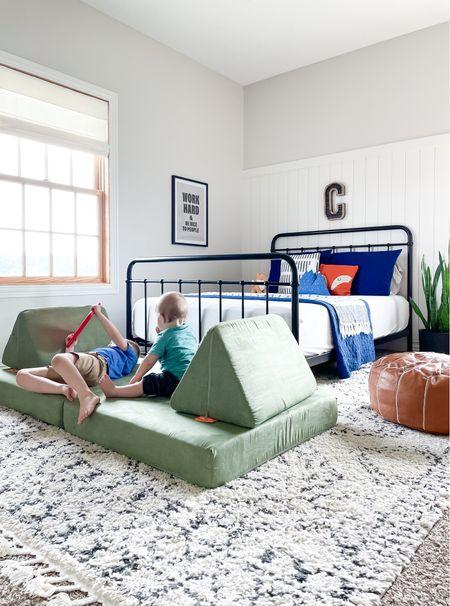 Neutral modern boho kids room.   #LTKfamily #LTKhome