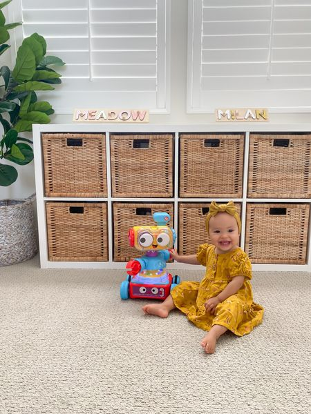 #ad This 4 in 1 learning robot is so fun! It moves and comes apart into 3 sections. Such a great toy and it grows with your child from infant to toddler to preschooler! Would definitely recommend and also would be a great gift! @walmart #walmart   #LTKfamily #LTKunder50 #LTKkids