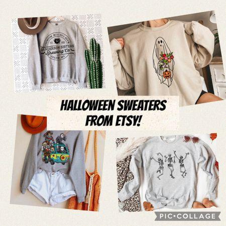 Halloween and fall sweaters from Etsy!  #LTKunder50 #LTKSeasonal #LTKstyletip