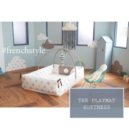 The nursery decor dreams are made of. The perfect playmat with padding and bumpers for your baby.   #LTKbaby #LTKkids #LTKbump @liketoknow.it.family @liketoknow.it.home http://liketk.it/37wT7 #liketkit @liketoknow.it