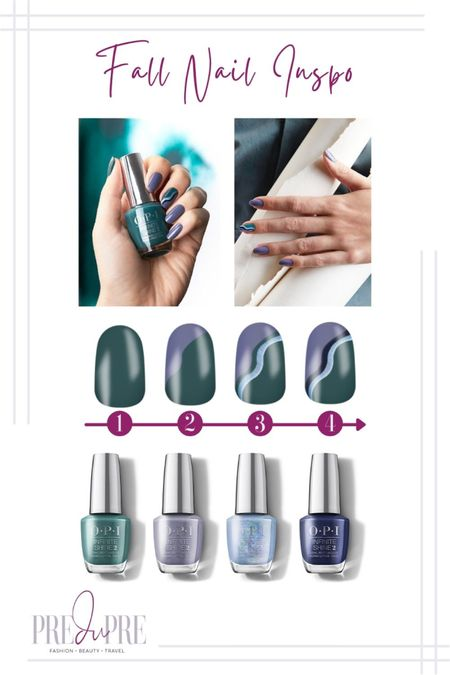 Dress up for the fall season not just with stylish clothing, but with the smallest detail too - your nails. Read more about how to create these gorgeous nails at www.predupre.com  http://liketk.it/3n083  nail art, nail inspiration, nail inspo, fall inspo, fall style   #LTKSeasonal #LTKbeauty #LTKstyletip