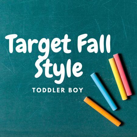 Target Fall Style for toddler boys! Neutral color pallet for easy matching + fun pajamas   #LTKSeasonal #LTKkids #LTKunder50