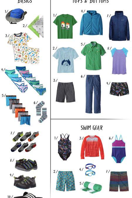 http://liketk.it/2BWEp #liketkit @liketoknow.it Sleepaway Camp Packing List that's Shoppable