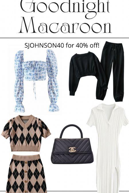 SJOHNSON40 for 40% off Goodnight Macaroon  New purchase    #LTKstyletip #LTKunder50 #LTKsalealert