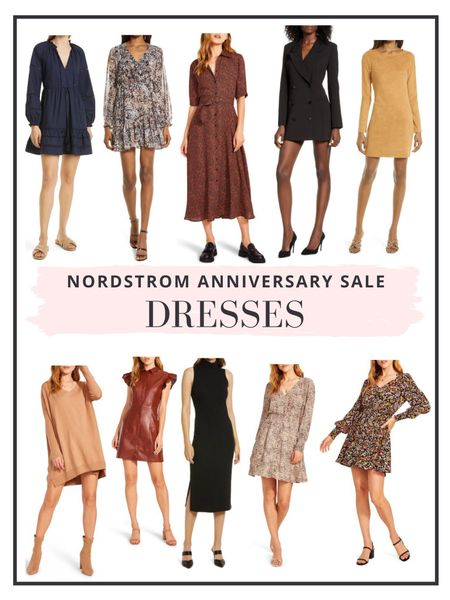 Ambassador level member can now shop the Nordstrom Anniversary Sale! Here are our top picks for dresses. Time to stock up for fall! http://liketk.it/3jGOV #liketkit @liketoknow.it #LTKsalealert #LTKunder100